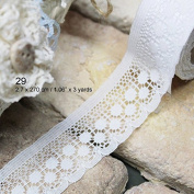 Craft Adhesive Deco Fabric Tape Rolls Multi-function Adornment Lace Tape