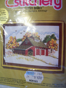 Country Barn Embroidery Kit