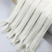 YAKA 33pcs Nylon Invisible Zippers Tailor Sewing Tools Garment Accessories 23cm Invisible Zippers 11 Colour