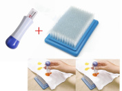 SUNREEK™ Felting Needle Tool with Seven Needle & Felting Needle Mat Brush Embroidery Stitching Punch Craft Tool Large