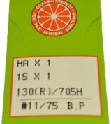 Orange Sewing Machine Needles HOBP-75