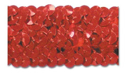 RED 3.2cm STRETCH SEQUIN-NEW!!!! LOW PRICE 10 Yards