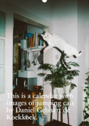 This is a Calendar with Images of Jumping Cats