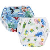Wegreeco One Size Reusable Baby Swim Nappy,Unisex Pattern