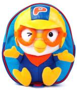 Cute Pororo Toddler Kids Backpack ;Three-dimensional face Bag