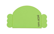 guzzie+Guss Perch Silicone Placemat, Green