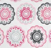 DwellStudio Crib Skirt, Zinnia Rose