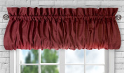 Ellis Curtain Stacey Balloon Valance, 150cm x 38cm , Merlot
