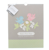Pepper Pot Nesting Keepsake Calendar with Coordinating Stickers