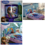 Disney Frozen 4 Piece Toddler Bed Set with Night Light