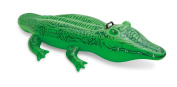 Children's inflatable crocodile ride on the water swim ring PVC swimming Assistant