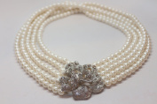 Pearl Necklace - the Audrey Hepburn Breakfast at Tiffany's Jewellery