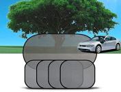 Yosoo 5 x Car Side Rear Window Sunshade Sun Shade Mesh Cover Visor Shield Screen Set