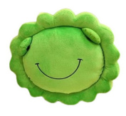 Smile YKK Kids Animals Sunflower Plush Throw Cushion Nap Pillow Green