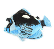 Drasawee Cute Butterfly Fish Toy Soft Plush Fish Toy For Kids Blue