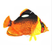 Drasawee Cute Butterfly Fish Toy Soft Plush Fish Toy For Kids Red