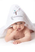 VLC babies original 100% soft cotton hooded towel. 75 x 75 NEW release!
