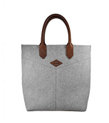 Santiago Felt Shopping Bag Leon Flam