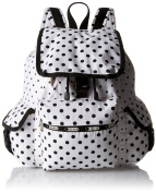 LeSportsac Voyager Backpack - SUN MULTI CREAM