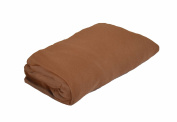 PMP Viscose Derived from Bamboo Fitted Sheet 60 x 120 cm Chocolate