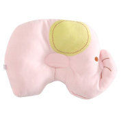 Happy Fd Cute Animal Baby Sleeping Pillow to Prevent Flat Head Nursing Pillows Cotton Soft for Newborn Infant Baby Little Elephant
