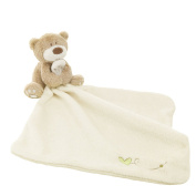 Lovely Bear Baby Security Blanket Beige