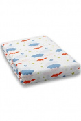 Milkii Swaddle 120 x 120 cm 100% Cotton Muslin Backdrop, Fox
