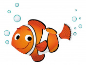 Leostickers® Wall Stickers-Clownfish