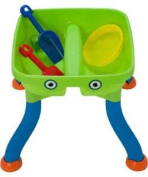 Chad Valley Sand And Water Table With Accessories.