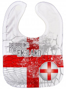 Dirty Fingers, Euro Football Dribbling for England, Feeding Bib