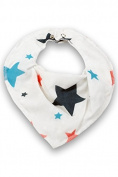 Milkii Triangular Bandage Bib 100% Quality Cotton Muslin/Bamboo Star Girl