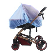 Butterme Half Cover Baby Infants Mosquito Net Fits for Strollers, Carriers, Pushchairs, Car Seats, Cradles, Provides Complete Child Protection