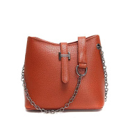 New Arrival Fashion Leather Woman Shoulder Bag Solid Shell Style Woman Messenger Bag