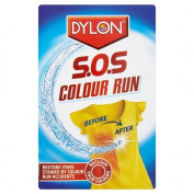 2 x Sachet DYLON SOS Colour Run Remover Laundry - Reclaim Your Colour 75ml Pack.