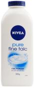 THREE PACKS of Nivea Pure Fine Talc 300g