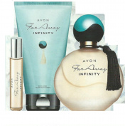 Far Away Infinity EDP, Purse Spray and Body Lotion - by Avon