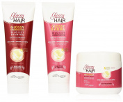 Kit Glossy Hair Claude Bell Shampoo+Conditioner+Mask