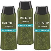 Trichup Herbal Natural Shampoo Pack Of 3 60ml Hair Dandruff Control Anti Dandruff Shampoo Scalp Care Kit