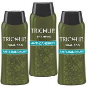 Trichup Herbal Natural Shampoo Pack Of 3 60ml Hair Dandruff Control Anti Dandruff Shampoo Scalp Care Kit