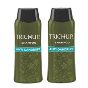 Trichup Natural Henna Pack Of 2 Scalp Care Kit Hair Anti Dandruff Shampoo Herbal Hair Shampoo 60ml