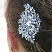 Desire Accessories New Sparkling Diamante Crystal Haircomb