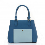 Women's Ladies Designer Leather Handbag - Celebrity Tote Handbag - More Colours Available