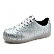Ei & iLI Unisex Usb Charging 7 Colours And 11 mode changes LED Luminous Flashing Sneakers Shoes
