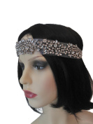 Desire Accessories Gatsby Inspired Beaded Headband