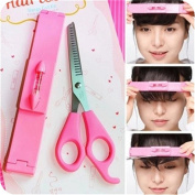 Lalang Hair Cutting Tools and Hairdressing Scissors Hair Cutting Bangs Ruler