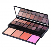 Professional Makeup Box Full 20 Colour Makeup Set Eye shadow Palette Pro 16 Colour Eye Shadow + 4 Colour Blush Make Up Set Shadows Cosmetics Makeup Palette Beauty Essential Tool