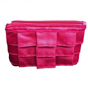 Project D by Danni and Tabitha Flirt Flaunt and Kiss Lip Gloss Trio Pink Cosmetics Bag