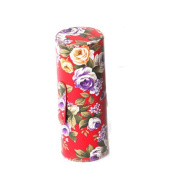 Makeup Brush Container,Amlaiworld Professional Roses makeup brush cylinder Cosmetic Brush Container