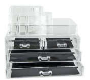 Feibrand Clear Makeup Organiser 4 Drawers 2 Layer