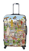 Heys - Artist Fazzino New York 4 Wheels Trolley Large